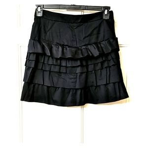 Old Navy black mini skirt